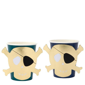 Meri Meri Pirates Bounty Party Cups