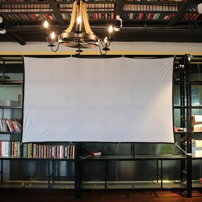 Wall Mounted Projector Screen, KDI - WS100