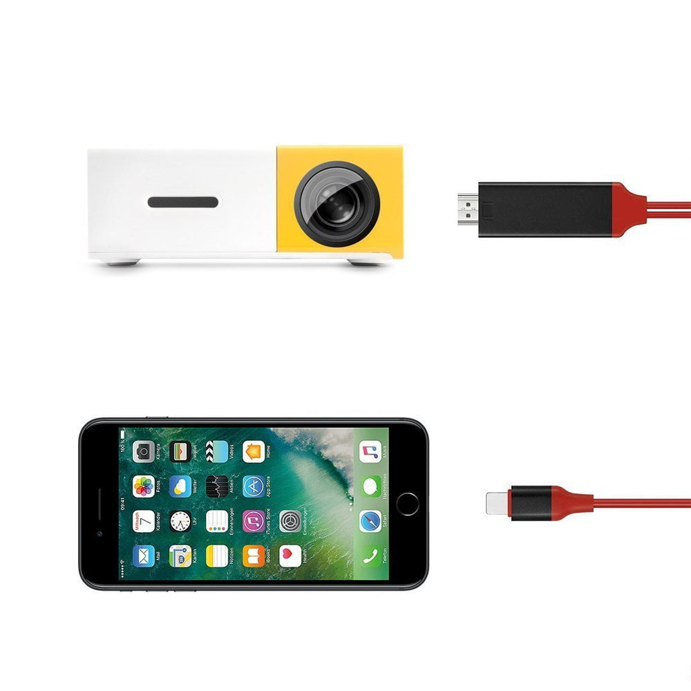 Lightning to HDMI Adapter Cable for iPhone, KDI - M7