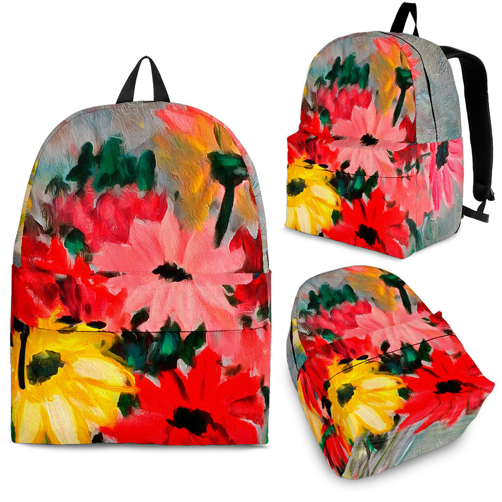 The Crystal Vase Backpack Fine Art Painting