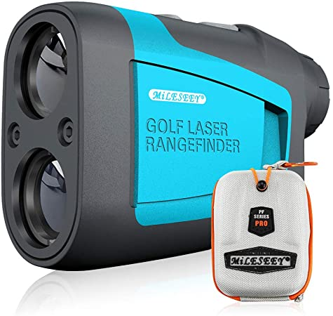 MiLESEEY Professional Precision Laser Golf Rangefinder 660 Yards with Slope Compensation