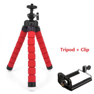 Flexible Phone Tripod With Bluetooth Remote Shutter