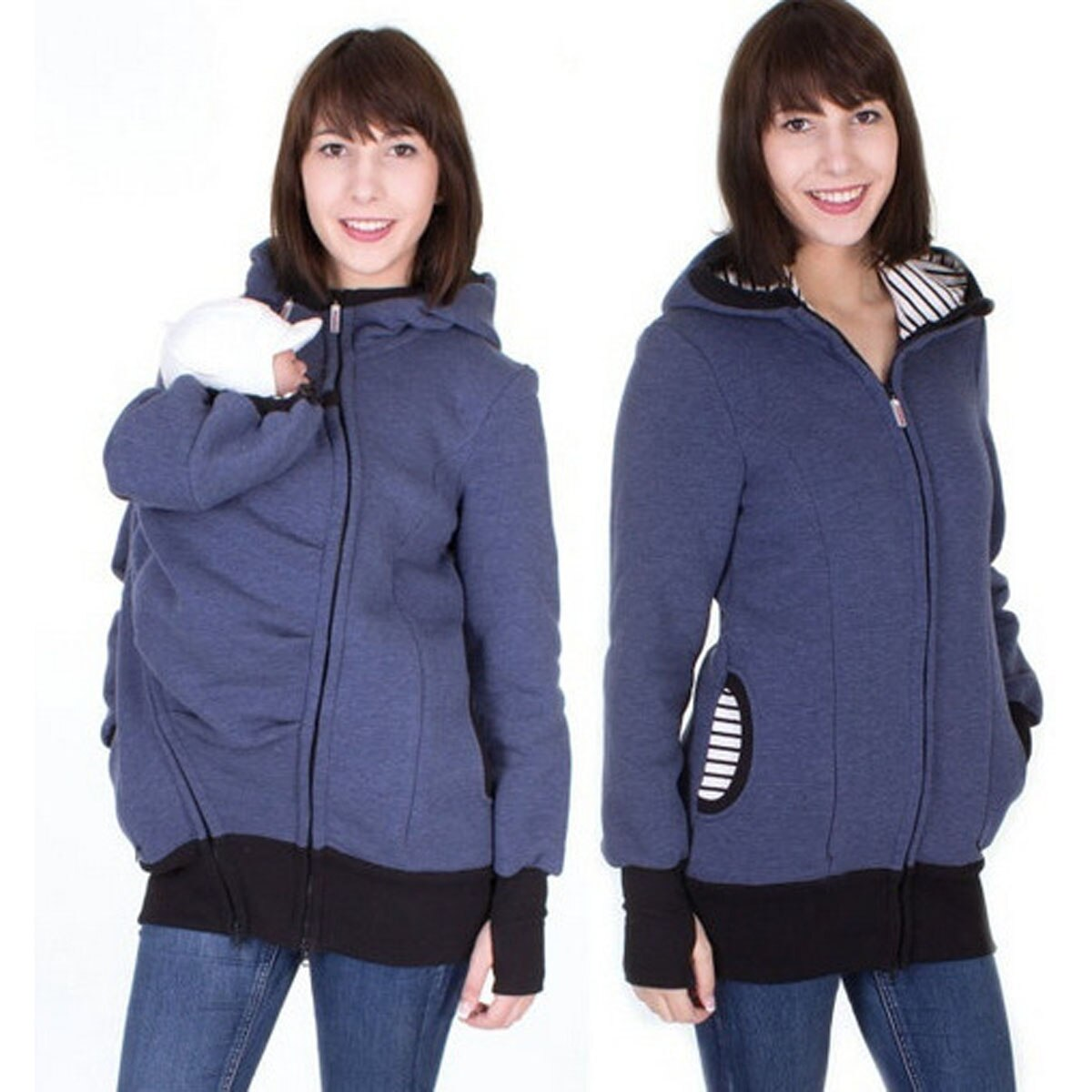 Kangaroo Winter Hooded Coat
