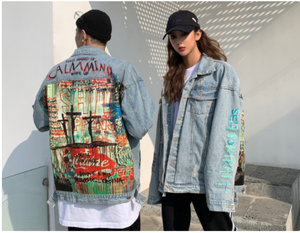 Shit Happens Denim Jacket