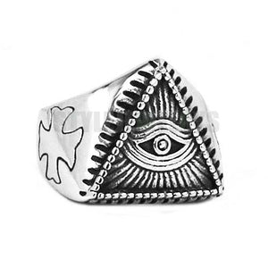 Egyptian Amulet Ring Stainless Steel