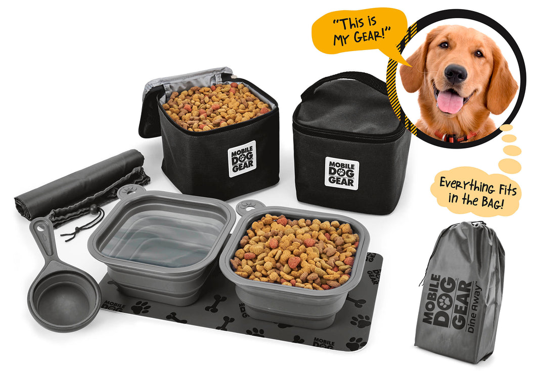 Dine Away Bag (Med/Lg Dogs) TM
