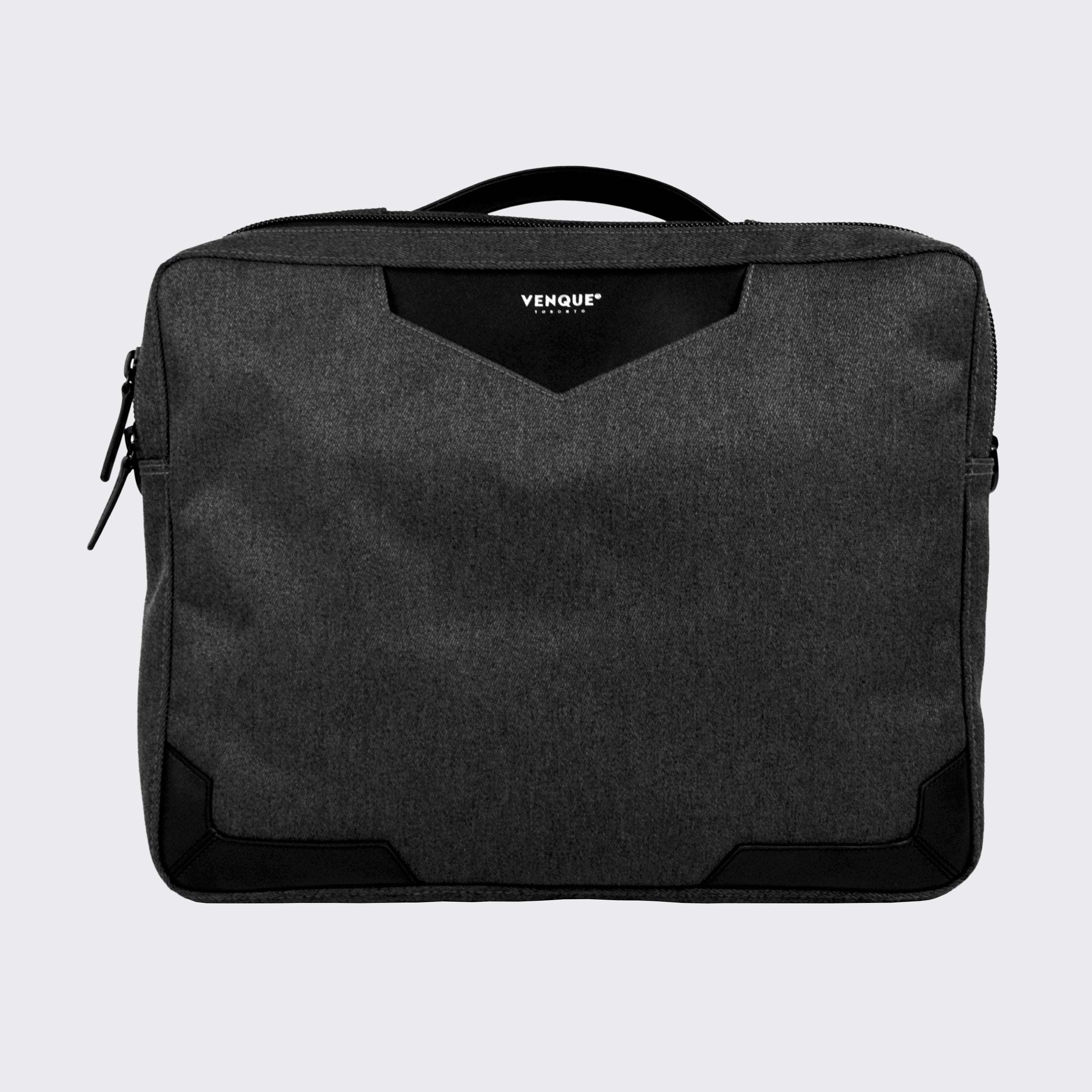 Balham Slim Briefcase Dark Grey