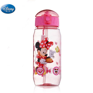 Mickey Minnie  Mouse water cups with straw