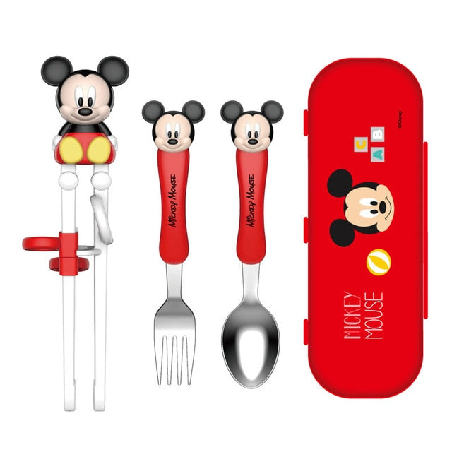 Disney Children's Training Chopsticks Set (Minnie Mickey)