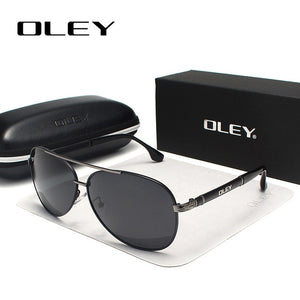 OLEY Brand Sunglasses Men Polarized Fashion Classic Pilot Sun Glasses Fishing Driving Goggles Shades For Men/Wome Y7005