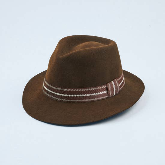 Denver Brown Classic Felt Hat
