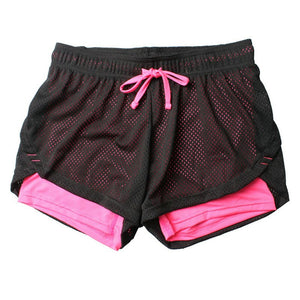 Unisex Summer Yoga Shorts for Women Mesh Breathable Ladie Girl Short Pants for Running Athletic Sport Fitness Clothes Jogging