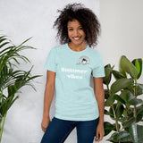 Cheekiemunkie 'Summer Vibes' Short-Sleeve Unisex T-Shirt