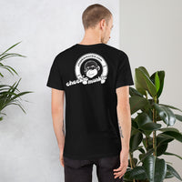 Cheekiemunkie (Based) Short-Sleeve Unisex T-Shirt