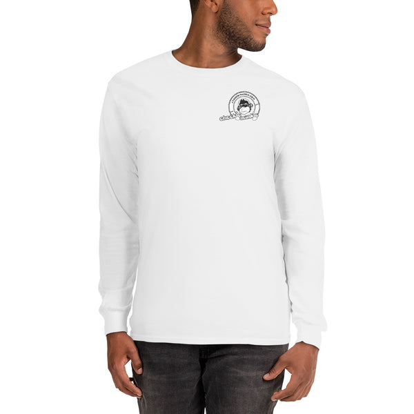Cheekiemunkie Men's Long Sleeve Shirt (Front logo only)