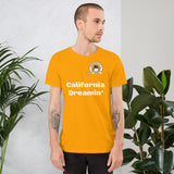 Cheekiemunkie 'California Dreamin' Short-Sleeve Unisex T-Shirt