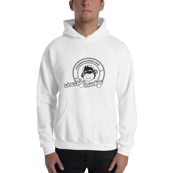 Cheekiemunkie (logo only!) Mens Hooded Sweatshirt