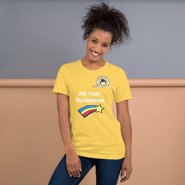 Cheekiemunkie 'BE THE RAINBOW' Short-Sleeve  T-Shirt