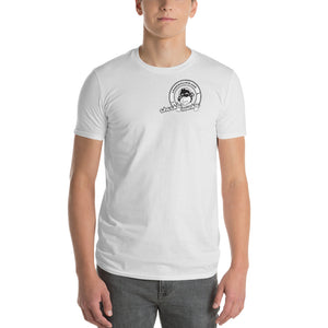 Cheekiemunkie Mens (logo only on front and back) Short-Sleeve T-Shirt