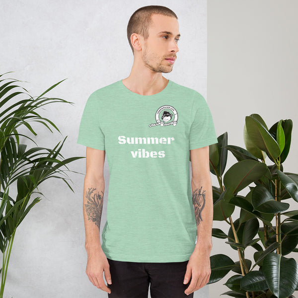 Cheekiemunkie 'Summervibes' Short-Sleeve Unisex T-Shirt