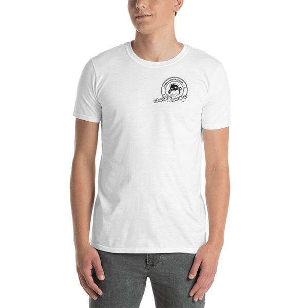 🔥 HOT SALE 50% OFF 🔥 Cheekiemunkie (Front logo) Short-Sleeve Unisex T-Shirt