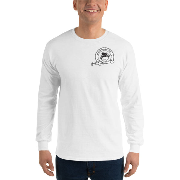 Funkiemunkie Men's Long Sleeve Shirt (Front logo only)