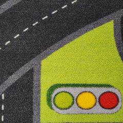 traffic signs road theme educational playroom rugs for kids boys and girls