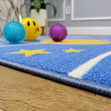 solar system planets theme educational playroom rugs for kids boys and girls