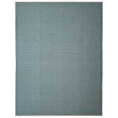 Belgio Rubber Backed Non Slip Rugs and Runners Solid Sage Green