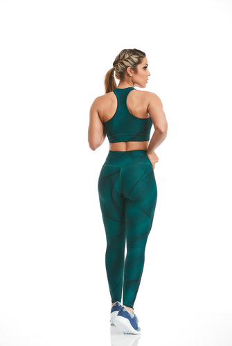 Legging Double Face Waves