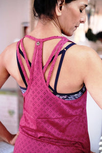 Amy Active Tank back Lorna Jane Brussels La Woman Touch