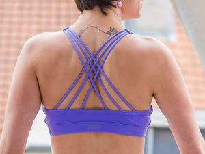 Extra mile yoga bra back Lorna Jane Brussels La Woman Touch