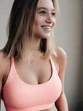 Load image into Gallery viewer, Hollie Sports bra front Brussels La Woman Touch