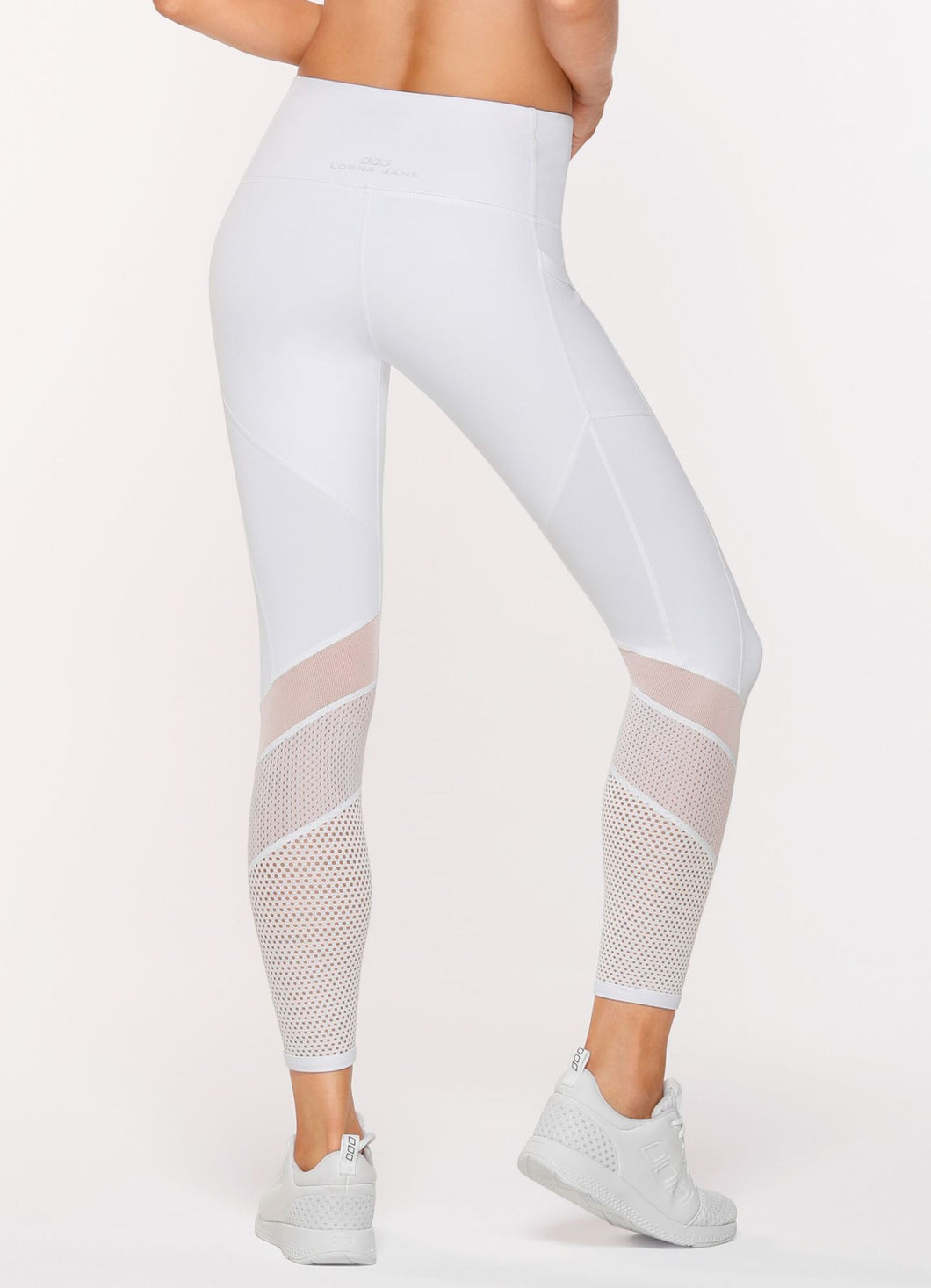 Speedster Booty AB Tight white Lorna Jane Brussels La Woman Touch