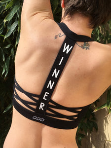Winner Sports Bra back Lorna Jane Brussels We're Just 4 Girls