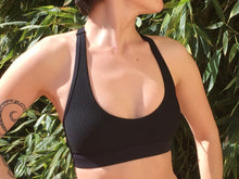 Load image into Gallery viewer, Winner Sports Bra front Lorna Jane Brussels We're Just 4 Girls