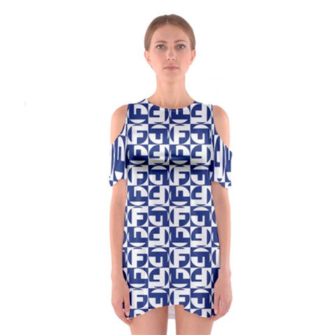 Final Furlong Racing - Cold Shoulder Dress