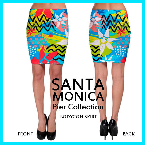 Santa Monica Pier Collection - Resort Wear - Skirt