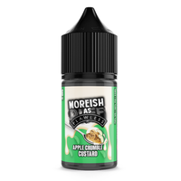 Moreish As Flawless Apple Crumble 25ml Short Fill E-Liquid