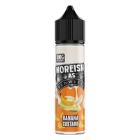 Moreish As Flawless Banana Custard 50ml Short Fill E-Liquid