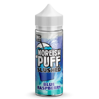 Blue Raspberry By Moreish Puff Slushed 100ml Short Fill