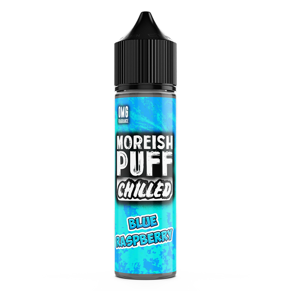 Chilled Blue Raspberry by Moreish Puff 50ml Short Fill