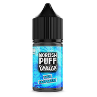 Chilled Blue Raspberry by Moreish Puff 25ml Short Fill