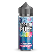 Blueberry & Raspberry by Moreish Puff 100ml Short Fill