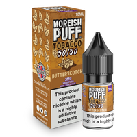 Moreish Puff Tobacco 50/50: Butterscotch Tobacco 10ml E-Liquid