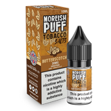 Butterscotch Tobacco Nic Salt by Moreish Puff 10ml