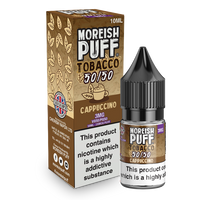 Moreish Puff Tobacco 50/50: Cappuccino Tobacco 10ml E-Liquid
