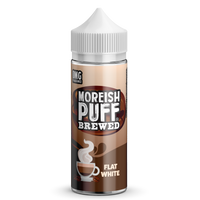 Flat White By Moreish Brewed 100ml Short Fill