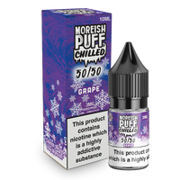 Moreish Puff Chilled 50/50: Grape Chilled 10ml E-Liquid