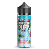 Grape & Strawberry Candy Drops By Moreish Puff 0mg Shortfill